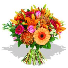 Ankara eryaman çiçekçi telefonları  Karisik kir çiçeklerinden görsel demet