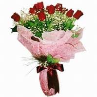 Ankara lalegül çiçek siparişi sitesi  12 adet kirmizi kalite gül