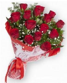 11 kırmızı gülden buket  Ankara kardelen güvenli kaliteli hızlı çiçek