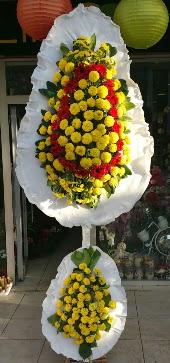 Çift katlı düğün açılış çiçek modeli  Ankara lalegül çiçek siparişi sitesi