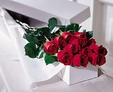 Ankara gimat çiçek satışı  özel kutuda 12 adet gül