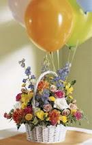 Ankara varlık mahallesi çiçek siparişi vermek  Mevsim çiçekleri sepeti balon hediye