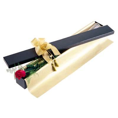 Ankara uluslararası çiçek gönderme  tek kutu gül özel kutu