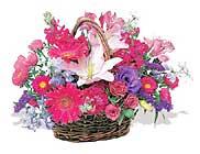 küçük karisik özel sepet   Ankara bilkent çiçek online çiçek siparişi