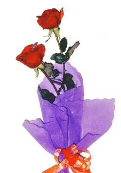 2  adet kirmizi gül buketi   Ankara etimesgut çiçek , çiçekçi , çiçekçilik
