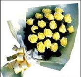 sari güllerden sade buket  Ankara etimesgut çiçek , çiçekçi , çiçekçilik