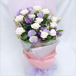 Ankara karacakaya internetten çiçek satışı  BEYAZ GÜLLER VE KIR ÇIÇEKLERIS BUKETI