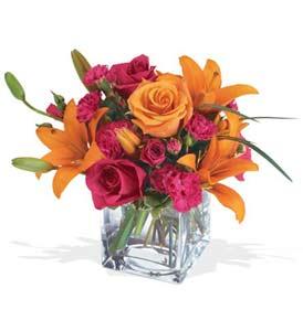 Ankara hacettepe çiçek mağazası , çiçekçi adresleri  cam içerisinde kir çiçekleri demeti
