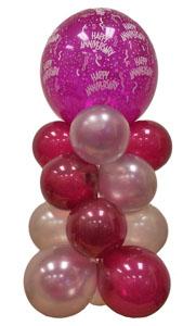 Sevdiklerinize 17 adet uçan balon demeti yollayin   Ankara eryaman çiçekçi telefonları