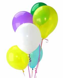Ankara yenimahalle İnternetten çiçek siparişi  Sevdiklerinize 17 adet uçan balon demeti yollayin.