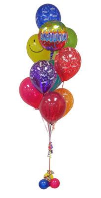Ankara ostim çiçek gönderme sitemiz güvenlidir  Sevdiklerinize 17 adet uçan balon demeti yollayin.