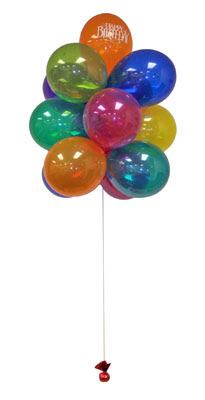Ankara sincan çiçek gönderme  Sevdiklerinize 17 adet uçan balon demeti yollayin.