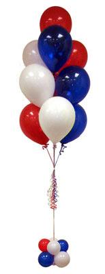 Ankara ivedik hediye çiçek yolla  Sevdiklerinize 17 adet uçan balon demeti yollayin.