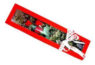 Ankara ivedik hediye çiçek yolla  Kutuda 3 adet gül