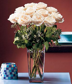 Ankara çayyolu hediye sevgilime hediye çiçek  Cam yada mika vazo içerisinde 12 gül