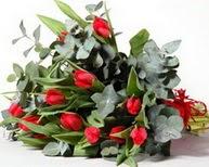 Ankara gimat çiçek satışı  11 adet kirmizi gül buketi özel günler için