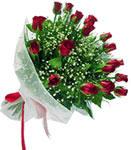 Ankara karacakaya internetten çiçek satışı  11 adet kirmizi gül buketi sade ve hos sevenler