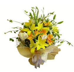 Ankara ostim çiçek gönderme sitemiz güvenlidir  2 dal kazablanka ve kir çiçekleri