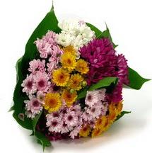 Ankara eryaman çiçekçi telefonları  Karisik kir çiçekleri demeti herkeze