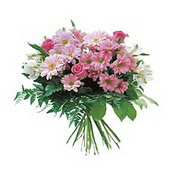 karisik kir çiçek demeti  Ankara gimat çiçek satışı
