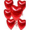Ankara online çiçekçi , çiçek siparişi  17 adet FOLYO kalp görünümünde uçan balon