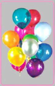 Ankara yenimahalle online çiçek gönderme sipariş  15 adet karisik renkte balonlar uçan balon