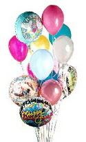 Ankara yenimahalle online çiçek gönderme sipariş  görsel kaliteli 17 uçan balon buketi tanzimleri