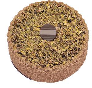 Krokanli 4 ile 6 kisilik yas pasta leziz  Ankara sincan çiçek gönderme