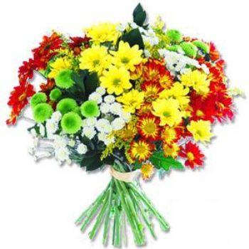 Kir çiçeklerinden buket modeli  Ankara yenimahalle online çiçek gönderme sipariş