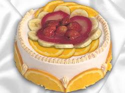 leziz pastane 4 ile 6 kisilik yas pasta meyvali yaspasta  Ankara ergazi kaliteli taze ve ucuz çiçekler