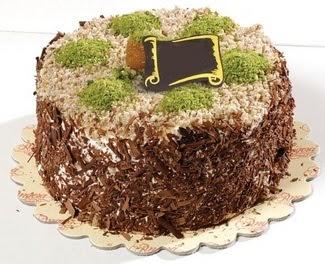 pasta gönderme 4 ile 6 kisilik çikolatali yas pasta  Ankara gimat çiçek satışı