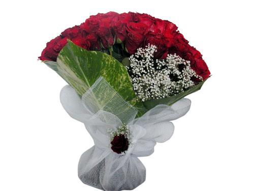 25 adet kirmizi gül görsel çiçek modeli  Ankara ümitköy çiçek servisi , çiçekçi adresleri