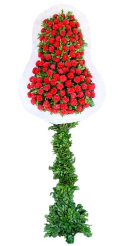 Dügün nikah açilis çiçekleri sepet modeli  Ankara yenimahalle İnternetten çiçek siparişi
