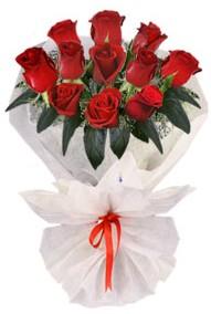 11 adet gül buketi  Ankara şentepe internetten çiçek siparişi  kirmizi gül