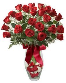 17 adet essiz kalitede kirmizi gül  Ankara hacettepe çiçek mağazası , çiçekçi adresleri