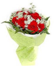 Ankara etimesgut çiçek , çiçekçi , çiçekçilik  7 adet kirmizi gül buketi tanzimi