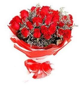 Ankara hacettepe çiçek mağazası , çiçekçi adresleri  12 adet kırmızı güllerden görsel buket