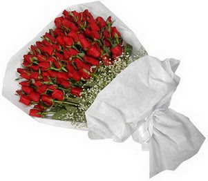 Ankara yenimahalle İnternetten çiçek siparişi  51 adet kırmızı gül buket çiçeği