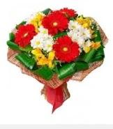 1 demet karışık buket  Ankara çayyolu hediye sevgilime hediye çiçek