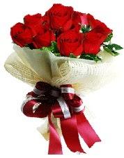 Görsel 12 adet kırmızı gül buketi  Ankara yenimahalle online çiçek gönderme sipariş