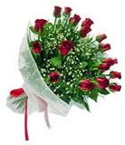 11 adet şahane gül buketi  Ankara karacakaya internetten çiçek satışı
