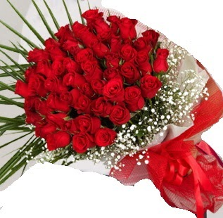 51 adet kırmızı gül buketi  Ankara ostim çiçek gönderme sitemiz güvenlidir