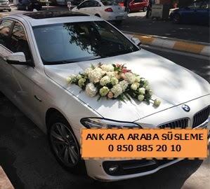 Ankara düğün araba süsleme  Ankara cicekciler , cicek siparisi
