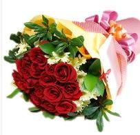 12 adet kırmızı gül ve papatyalar  Ankara anneler günü çiçek yolla