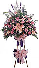 Ankara kardelen güvenli kaliteli hızlı çiçek   Ferforje Pembe kazablanka
