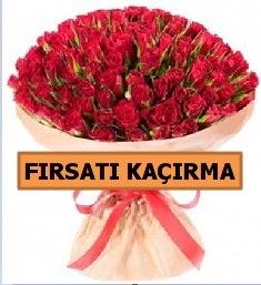 SON 1 GÜN İTHAL BÜYÜKBAŞ GÜL 101 ADET  Ankara karacakaya internetten çiçek satışı