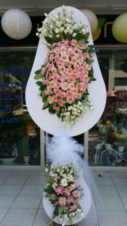 Çift katlı özel şahane sepet çiçeği  Ankara eryaman çiçekçi telefonları