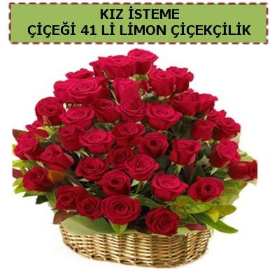 41 Adet gül kız isteme çiçeği modeli  Ankara eryaman çiçekçi telefonları