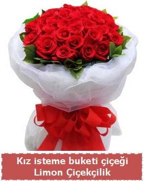 Kız isteme çiçeği buketi 29 kırmızı gül  Ankara eryaman çiçekçi telefonları