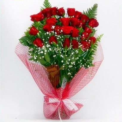 Kız isteme buketi çiçeği sade 29 adet gül  Ankara eryaman çiçekçi telefonları